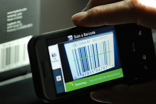 barcode scan on phone
