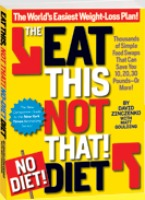 eat this not that no diet book