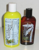 sunscreen and tanner lotions