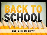 back to shool - are you ready?