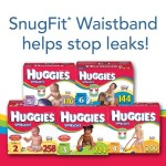 huggies snug & dry diaper boxes
