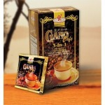 gano cafe three in one instant coffee box