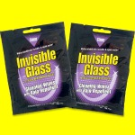 invisible glass cleaning wipes with rain repellent